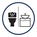 table washrtoom icon